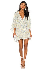 Mes Demoiselles Sally Kimono Dress in Multiprint