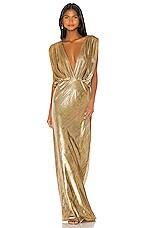 Mes Demoiselles Helen Dress in Gold