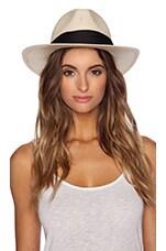Michael Stars Breezy Panama Hat in Black