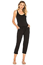 Michael Stars Tank Jumpsuit in Black