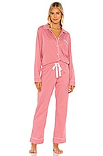 Michael Stars Sloane PJ Set in Rosebud