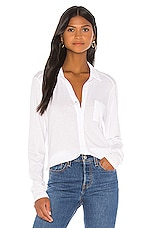 Michael Stars Harley Button Down in White