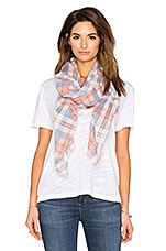 GILET DRAPÉ MORNING SIDE PLAID