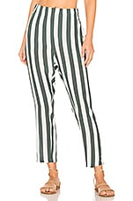 MIKOH Kanuma Pant in Retro Stripe Army