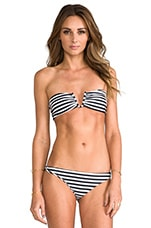 Reunion V-Wire Bandeau in Swell
