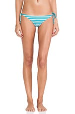 Swimwear Venice Basic Tie Bottom in Caribbean Swell