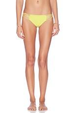 Lanai Multi String Bikini Bottom in Plumeria