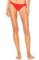 MIKOH x REVOLVE Miyako Bikini Bottom in Freedom Red