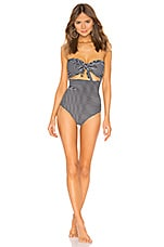 MIKOH Lana One Piece in Classic Stripe