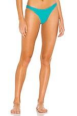 MIKOH Lahaina Bikini Bottom in Maui Blue