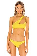 MIKOH Queensland 2 Bikini Top in Yuzu