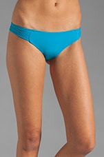 Malibu Skinny String Side Bottom in Pacific