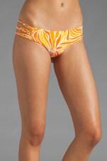 Velzyland Skinny Tie Side Bottom in Tropic Ginger