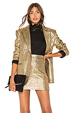 MILLY Eva Jacket in Gold