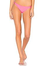 MILLY Maglifico Ripa Bikini Bottom in Pink