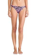 St. Lucia Bikini Bottom in Fluo Pink