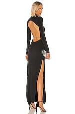Michael Lo Sordo X REVOLVE Backless Crystal Dress in Black