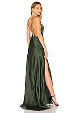 Michael Lo Sordo Alexandra Maxi Dress in Bottle Green