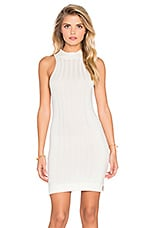 MINKPINK Read On Dress in White