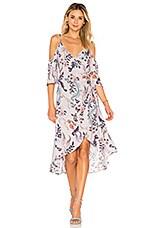 MINKPINK Lavender Love Wrap Dress in Multi
