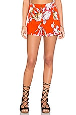 MINKPINK Tangerine Dreams Ruffle Short in Multi