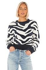 MINKPINK A Wild Winter Knit Sweater in Navy