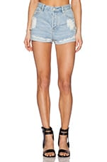 Go West Short in Denim Blue