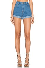 Pace Yourself Short in 70's Blue