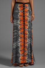 Reflections Maxi Skirt in Multi