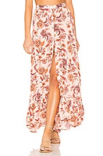 MINKPINK Lola Maxi Skirt in Multi