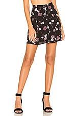 MINKPINK Night Garden Mini Skirt in Multi