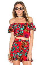 Tropical Dream Top en Imprimé