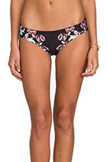 Night Garden Bikini Bottom in Multi