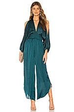 MISA Los Angeles X REVOLVE Byanca Jumpsuit in Emerald