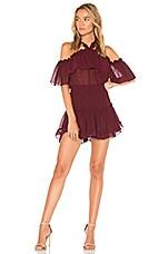 MISA Los Angeles Melis Dress in Burgundy