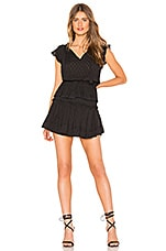 MISA Los Angeles Lilian Dress in Coal Black
