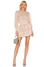 MISA Los Angeles Katia Dress in Blush Stripe