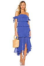 MISA Los Angeles Isidora Dress in Royal Blue