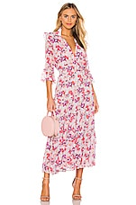 MISA Los Angeles Pamelina Dress in Lilac Floral
