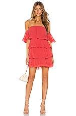 MISA Los Angeles Famke Dress in Coral