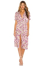 MISA Los Angeles Melvari Dress in Fuchsia Floral