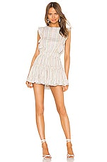 MISA Los Angeles X REVOLVE Cielle Dress in Ivory Multi Lurex