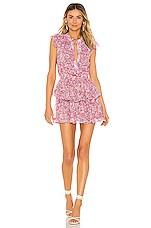 MISA Los Angeles Marnie Dress in Lilac Floral