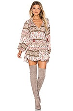 MISA Los Angeles Lorena Dress in Soft Jewel