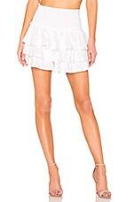 MISA Los Angeles Agnes Skort in White