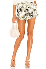 MISA Los Angeles Inca Shorts in Modern Palm
