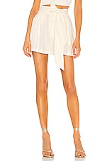 MISA Los Angeles Callae Shorts in Ivory