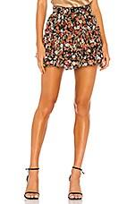 MISA Los Angeles Marion Skirt in Safari Floral