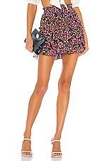 MISA Los Angeles Marion Skirt in Multi Floral