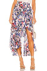 MISA Los Angeles X REVOLVE Joseva Skirt in Tie Dye Floral
